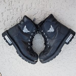 Harley Davidson authentic moto boots size 8